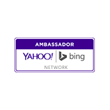 pay per click advertising company Partner Yahoo Bing Logo