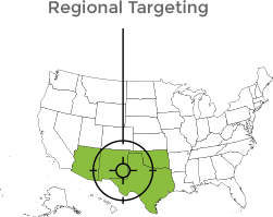 Programmatic Regional Targeting Agency in Texas
